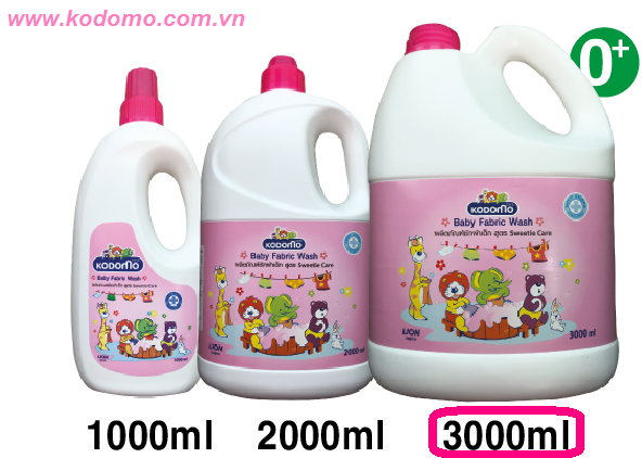 nuoc-giat-xa-kodomo-sweetie-care-3000ml